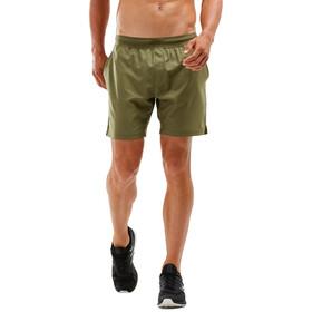 """2XU XCTRL Woven 7"""" Shorts Men moss/moss"""